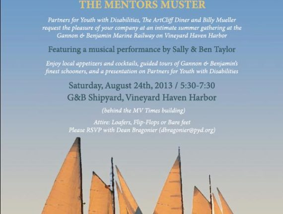 Gannon and Benjamin Mentors Muster invitation