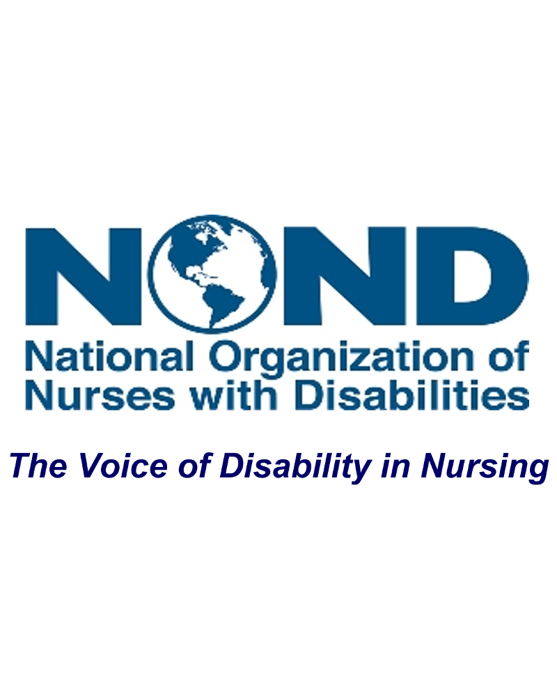 National Organization of Nurses with Disabilities logo